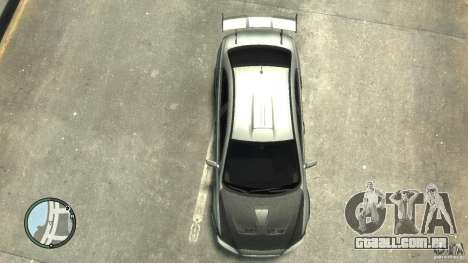 Mitsubishi Lancer Evo X Drift para GTA 4 vista interior