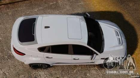 BMW X6 Hamann Evo22 no Carbon para GTA 4 vista direita