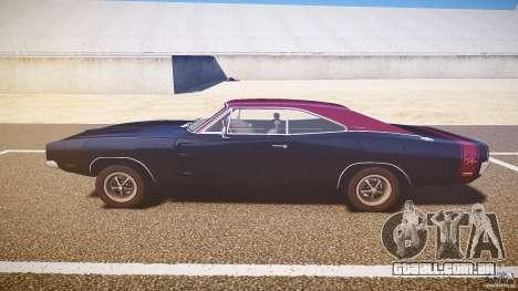 Dodge Charger RT 1969 v1.0 para GTA 4 esquerda vista