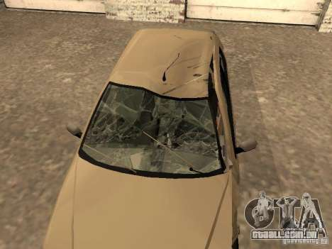 Fiat Palio 1.8R para vista lateral GTA San Andreas