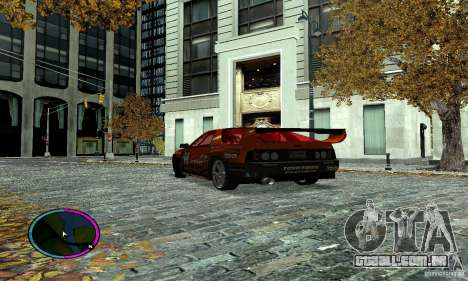 Mazda RX-7 FC for Drag para GTA San Andreas vista traseira