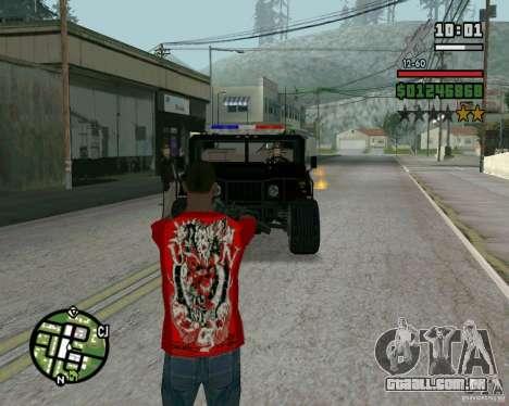 Novo xerife para GTA San Andreas segunda tela