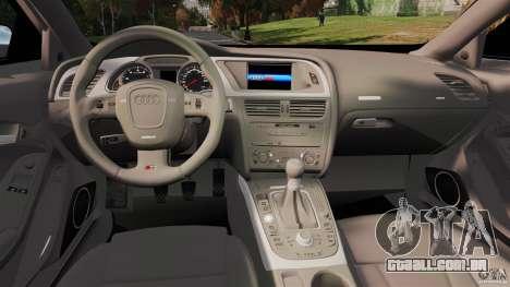 Audi S5 Conceptcar para GTA 4 vista direita