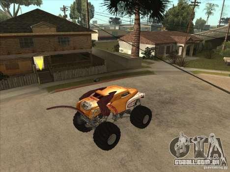Monster Mutt para GTA San Andreas vista direita