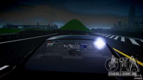 Saleen S281 Extreme Unmarked Police Car - v1.2 para GTA 4 motor