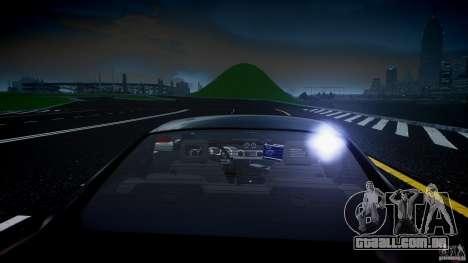 Saleen S281 Extreme Unmarked Police Car - v1.2 para GTA 4 motor