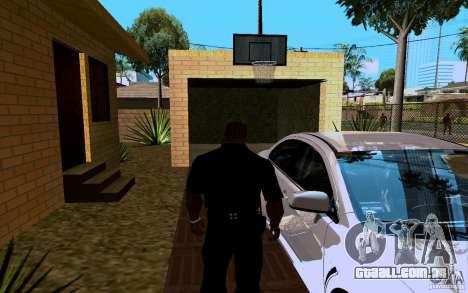 Nova casa grande robô para GTA San Andreas sexta tela
