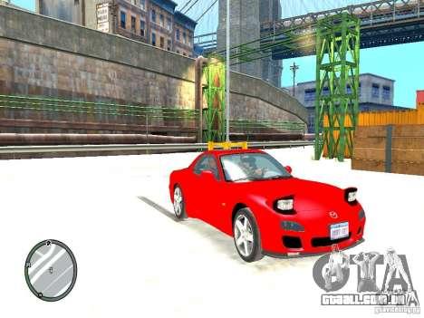 Mazda RX-7 Type RZ para GTA 4 vista direita