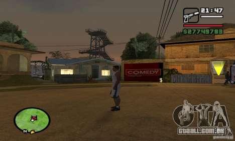 Base GROOVE Street para GTA San Andreas terceira tela