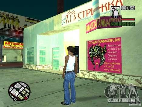 Russian shop para GTA San Andreas