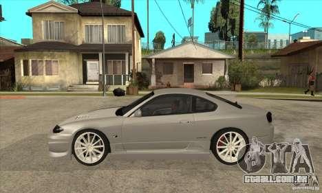 Nissan Silvia para GTA San Andreas esquerda vista