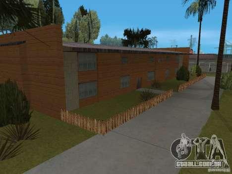 Novo Groove Street para GTA San Andreas por diante tela
