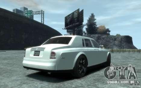 Rolls-Royce Phantom para GTA 4 vista direita