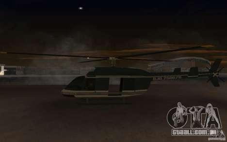 GTA IV Maverick para GTA San Andreas vista direita