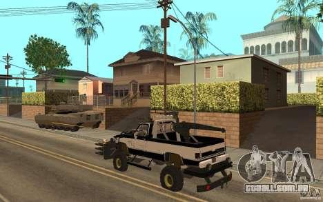 Chevrolet Hunter para GTA San Andreas vista direita