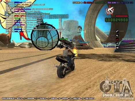 SA:MP 0.3d para GTA San Andreas décima primeira imagem de tela