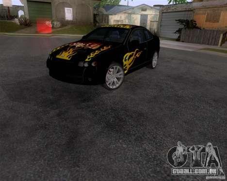 Vauxhall Monaco VX-R para GTA San Andreas traseira esquerda vista