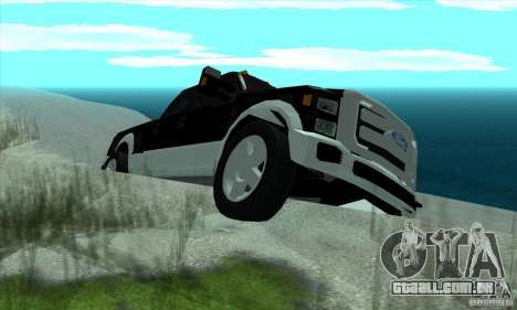 FORD F450 SUPER DUTE para GTA San Andreas vista direita