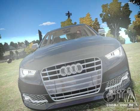 Audi A6 Avant Stanced para GTA 4 esquerda vista