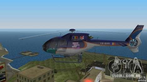 Eurocopter Ec-120 Colibri para GTA Vice City vista direita