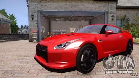 Nissan GTR R35 v1.0 para GTA 4