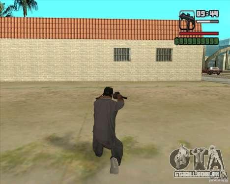 New Micro uzi HD para GTA San Andreas terceira tela