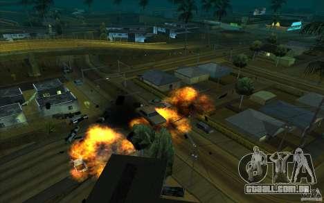 Desenho para GTA San Andreas sexta tela