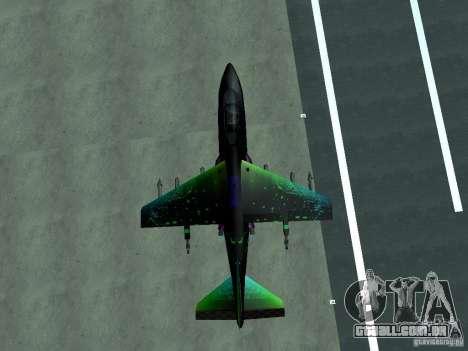 Colorful Hydra para GTA San Andreas esquerda vista