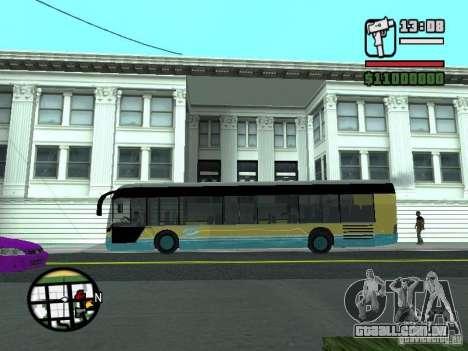 CitySolo 12 para GTA San Andreas traseira esquerda vista