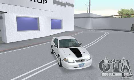 Ford Mustang GT 2003 para GTA San Andreas vista interior