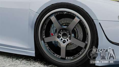 Audi R8 Spider Body Kit Final para GTA 4 vista lateral