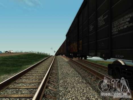 Carrinho de rolimã para GTA San Andreas esquerda vista