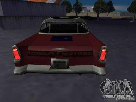 Bloodring Banger (A) de Gta Vice City para GTA San Andreas traseira esquerda vista