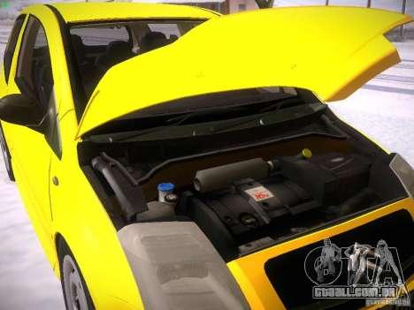 Citroen C2 para GTA San Andreas vista interior