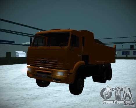 Caminhão KAMAZ 6520 para GTA San Andreas