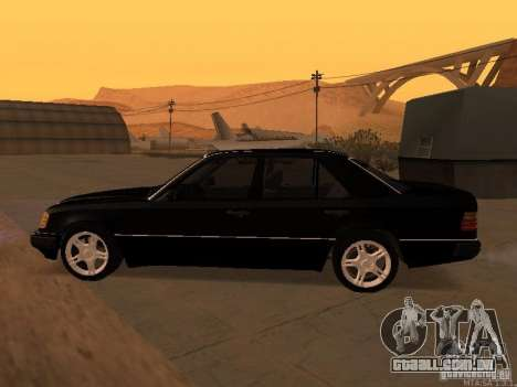 Mercedes-Benz E250 V1.0 para GTA San Andreas vista superior
