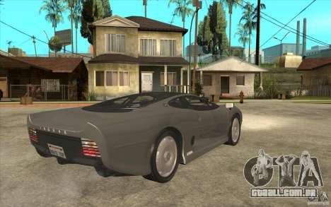 Jaguar XJ 220 para GTA San Andreas vista direita