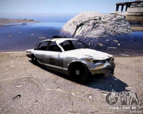 Russian NOOSE Cruiser para GTA 4 vista de volta
