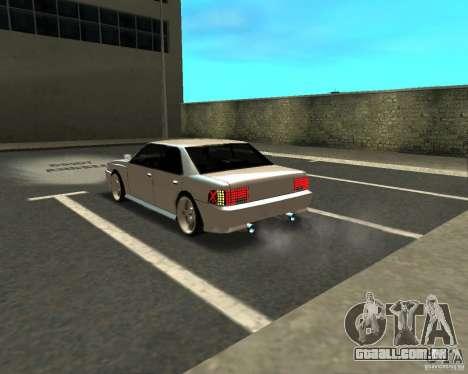 Azik Sultan para GTA San Andreas vista direita