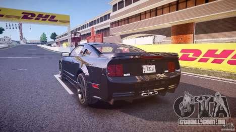 Saleen S281 Extreme Unmarked Police Car - v1.1 para GTA 4 traseira esquerda vista