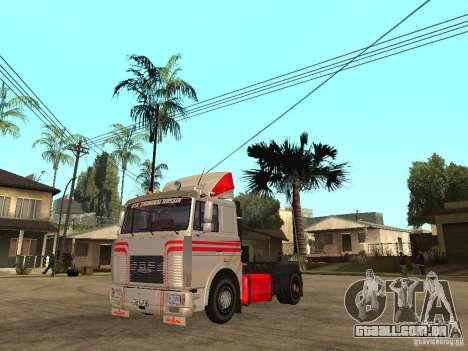MAZ 543205 Tuning para GTA San Andreas