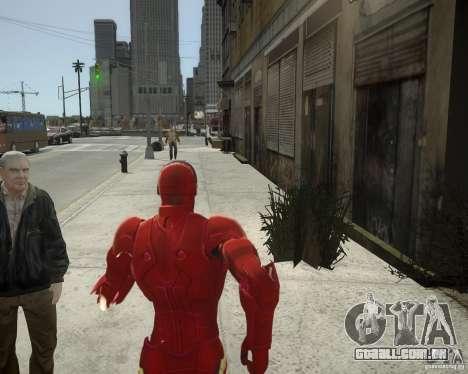 Iron Man Mk3 Suit para GTA 4 sexto tela