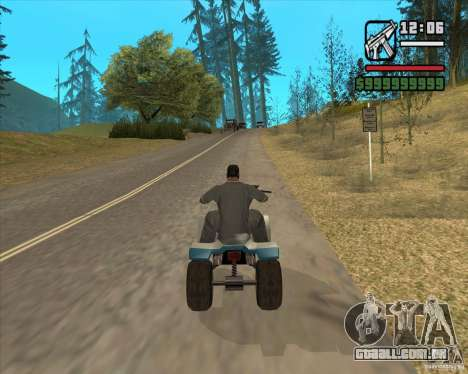 Caçador de casa v. 3.0 Final para GTA San Andreas sétima tela