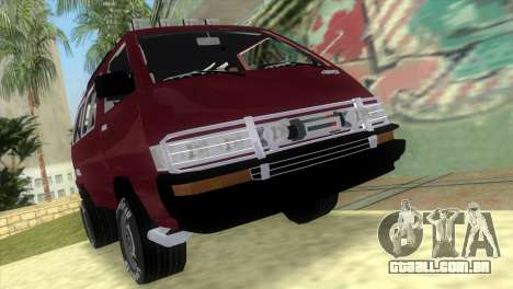 Toyota Town Ace-Tuning para GTA Vice City