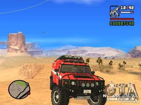 HZS Hummer H2 para GTA San Andreas