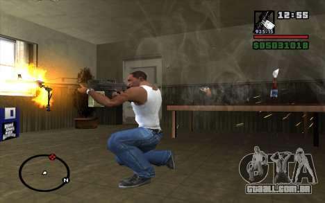 PKP Pecheneg metralhadora para GTA San Andreas terceira tela