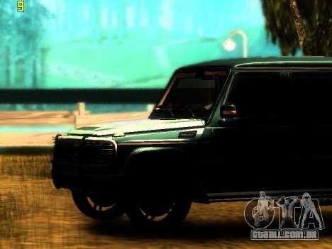 ENBSeries v3 para GTA San Andreas segunda tela