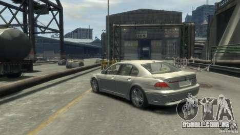 BMW 760I para GTA 4 esquerda vista