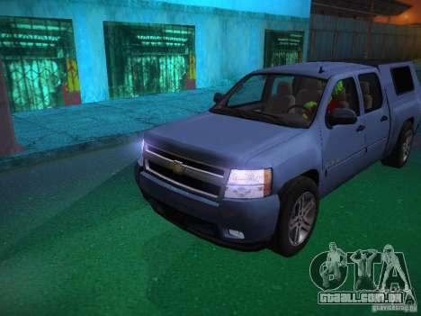 Chevrolet Silverado para o motor de GTA San Andreas