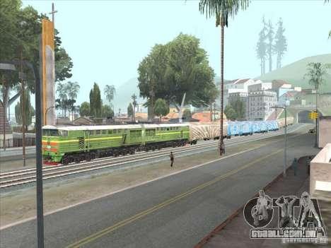 2te10u-0238 para GTA San Andreas esquerda vista